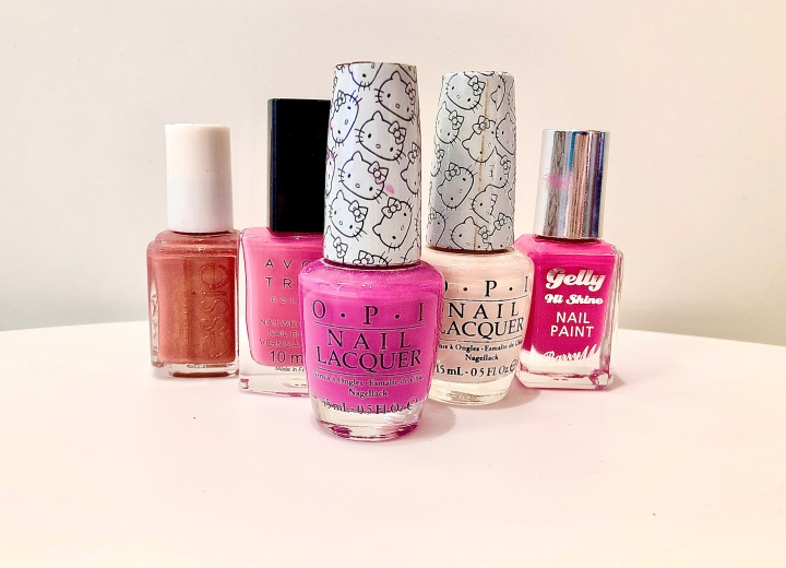 Pretty in Pink – My All Time Favourite Shades of Pink NailPolish